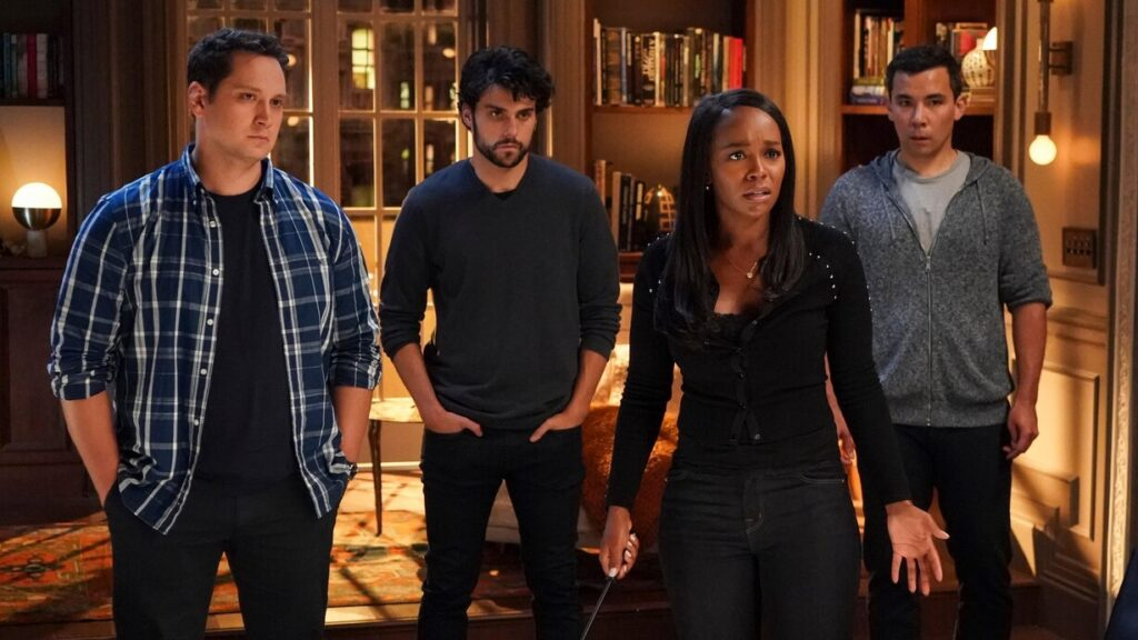 How to Get Away With Murder 6x01 - Keating Five