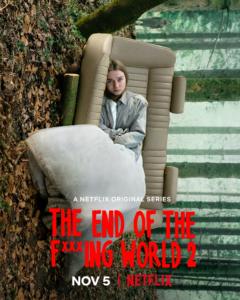 Novità Netflix - The end of the f***ing world 2