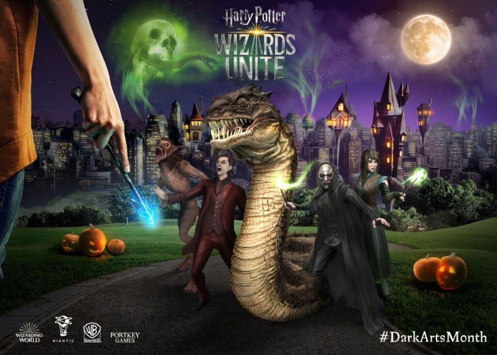 wizards unite dark arts month