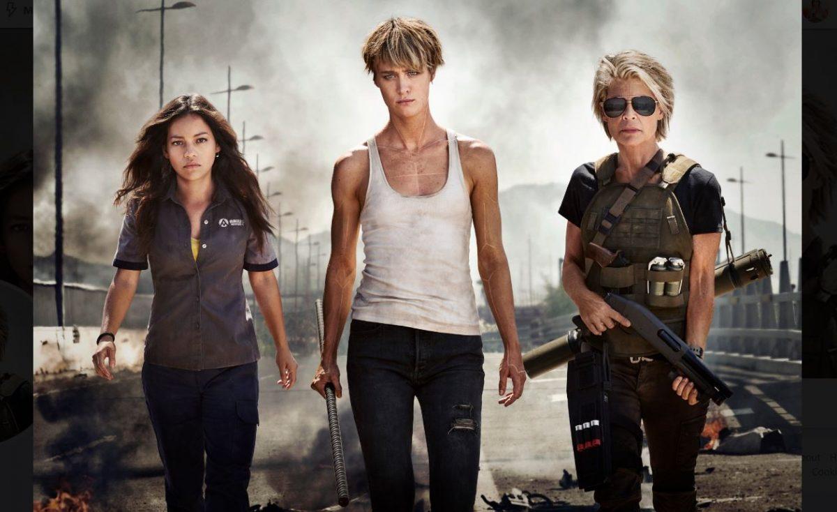 Terminator Destino Oscuro - Cover