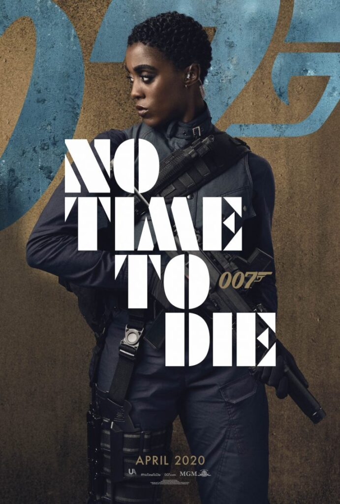 Die Lashana Lynch, 007, No Time To Die, James Bond, 007, Gogo Magazine