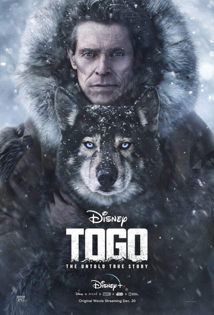 Togo, Willem Defoe, Disney +, Gogo Magazine