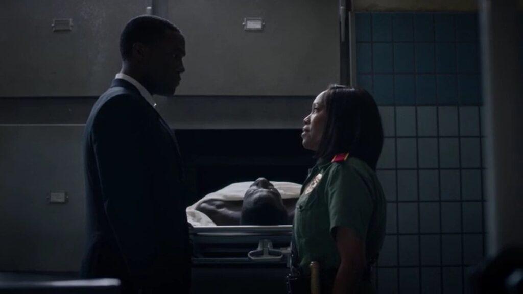 Angela Abar, Regina King, Dottor Manhattan, Watchmen 1x08, HBO, Gogo Magazine