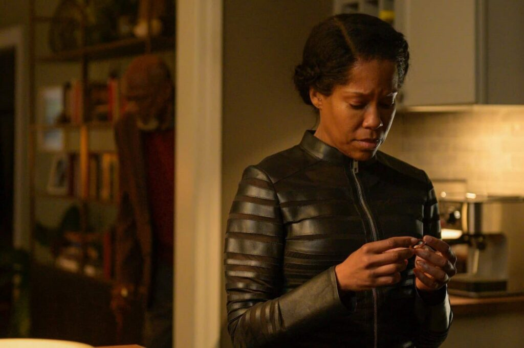 Angela Abar, Regina King, Watchmen 1x09, HBO, Gogo Magazine