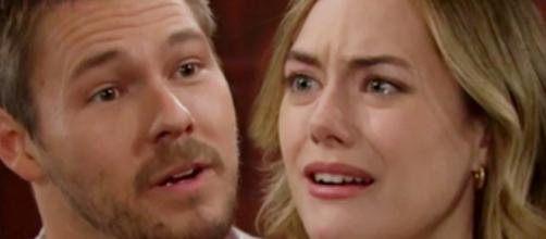 Beautiful: Liam cerca di aprire gli occhi a Hope sulla buona fede di Thomas