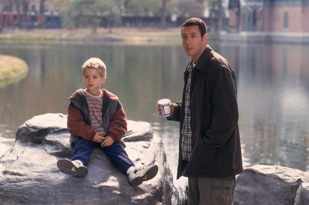 Cole Sprouse e Adam Sandler