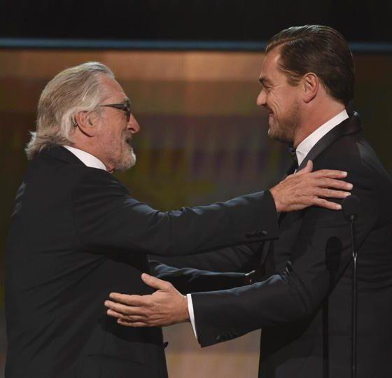 Leonardo DiCaprio e Robert De Niro