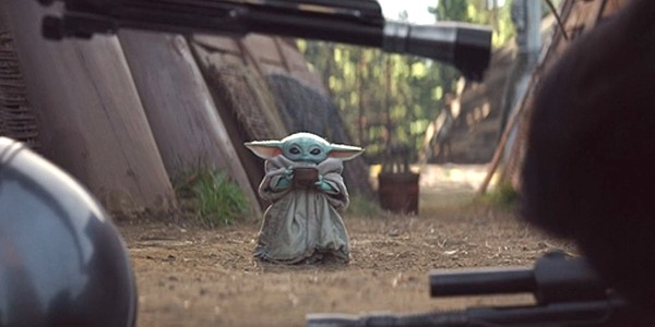 The Witcher e Baby Yoda
