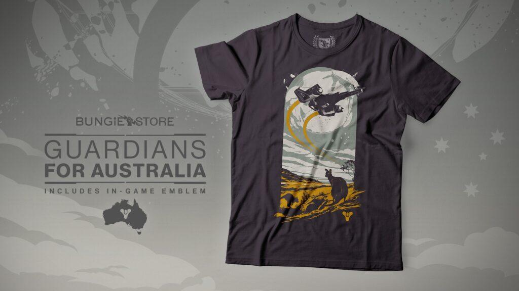 destiny 2 maglia australia