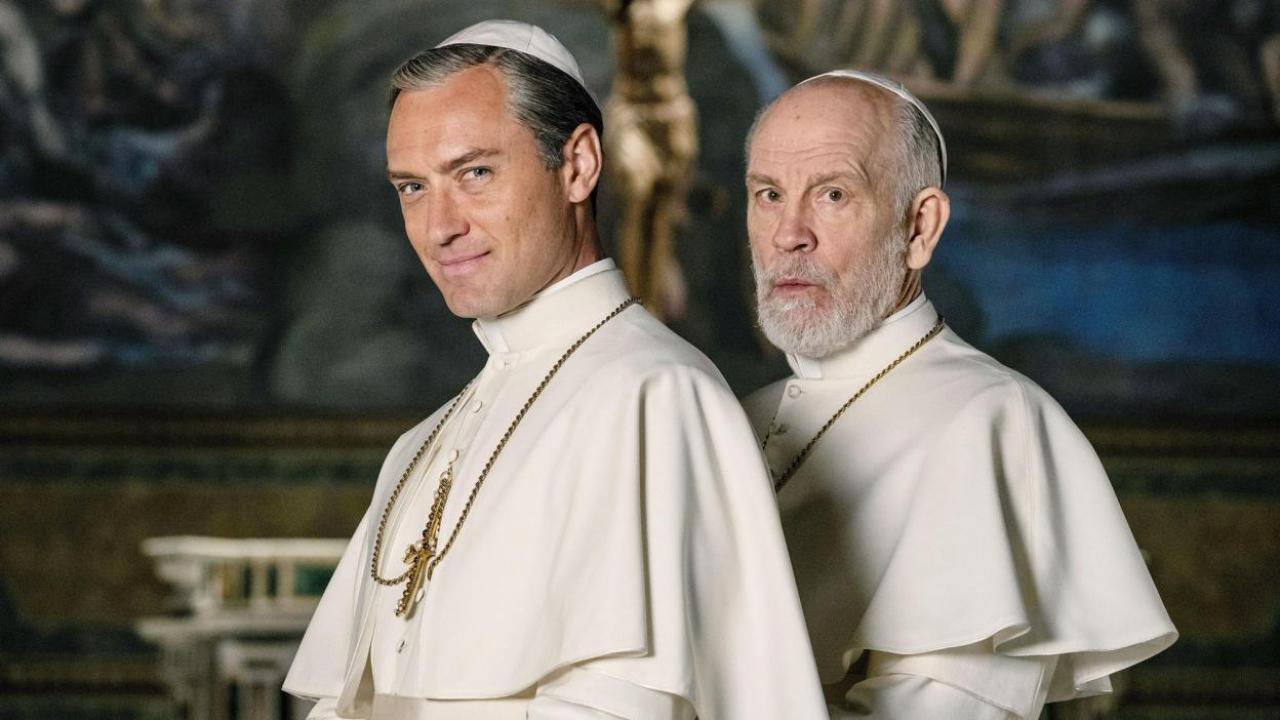 The New Pope 1x05 1x06 1x09, Jude Law, John Malkovich, Gogo Magazine
