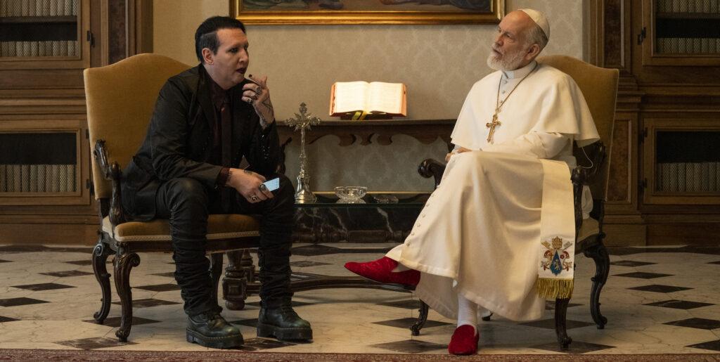 The New Pope, Marilyn Manson, John Malkovich, Gogo Magazine