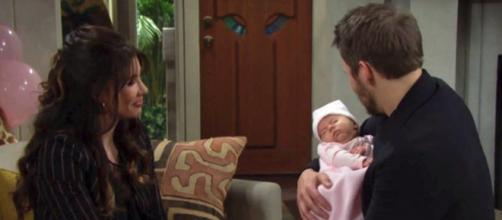 Beautiful - Liam e Steffy fanno la conoscenza di Beth