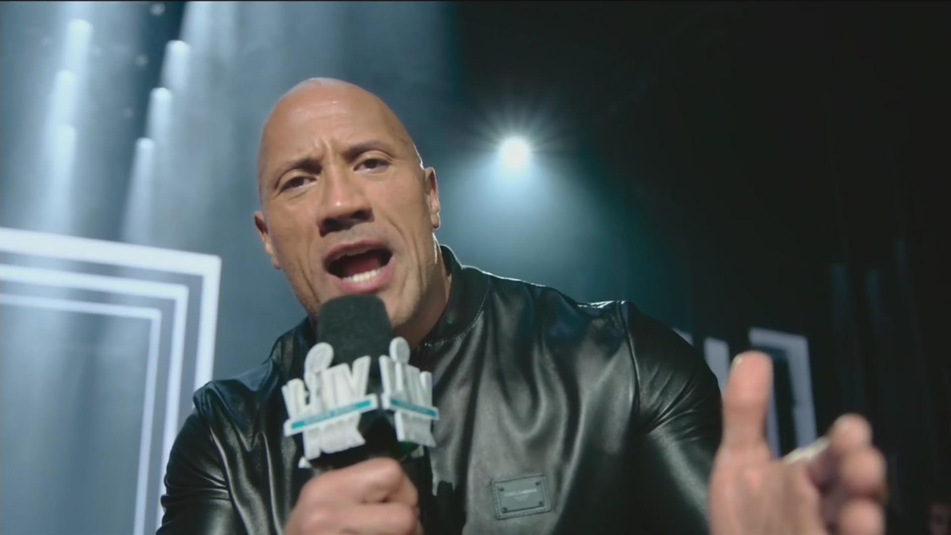 Super Bowl 2020 - The Rock