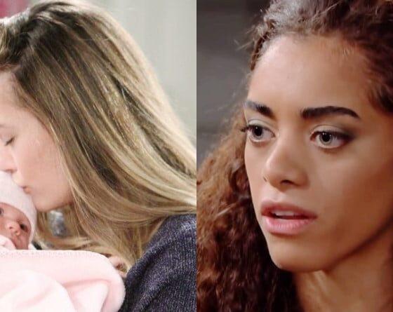Beautiful - Hope ascolta Zoe parlare di sua figlia Beth
