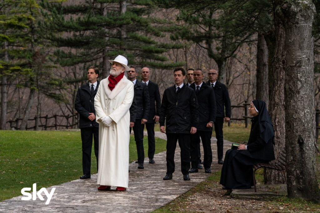 The New Pope, Paolo Sorrentino, John Malkovich, HBO, Gogo Magazine