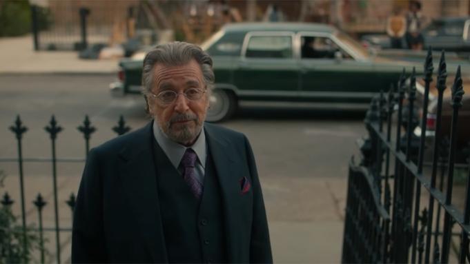 Al Pacino in Hunters, Super Bowl 2020 trailer