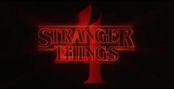 Logo Stranger Things 4