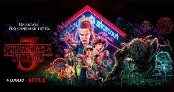 Poster della terza stagione di Stranger Things