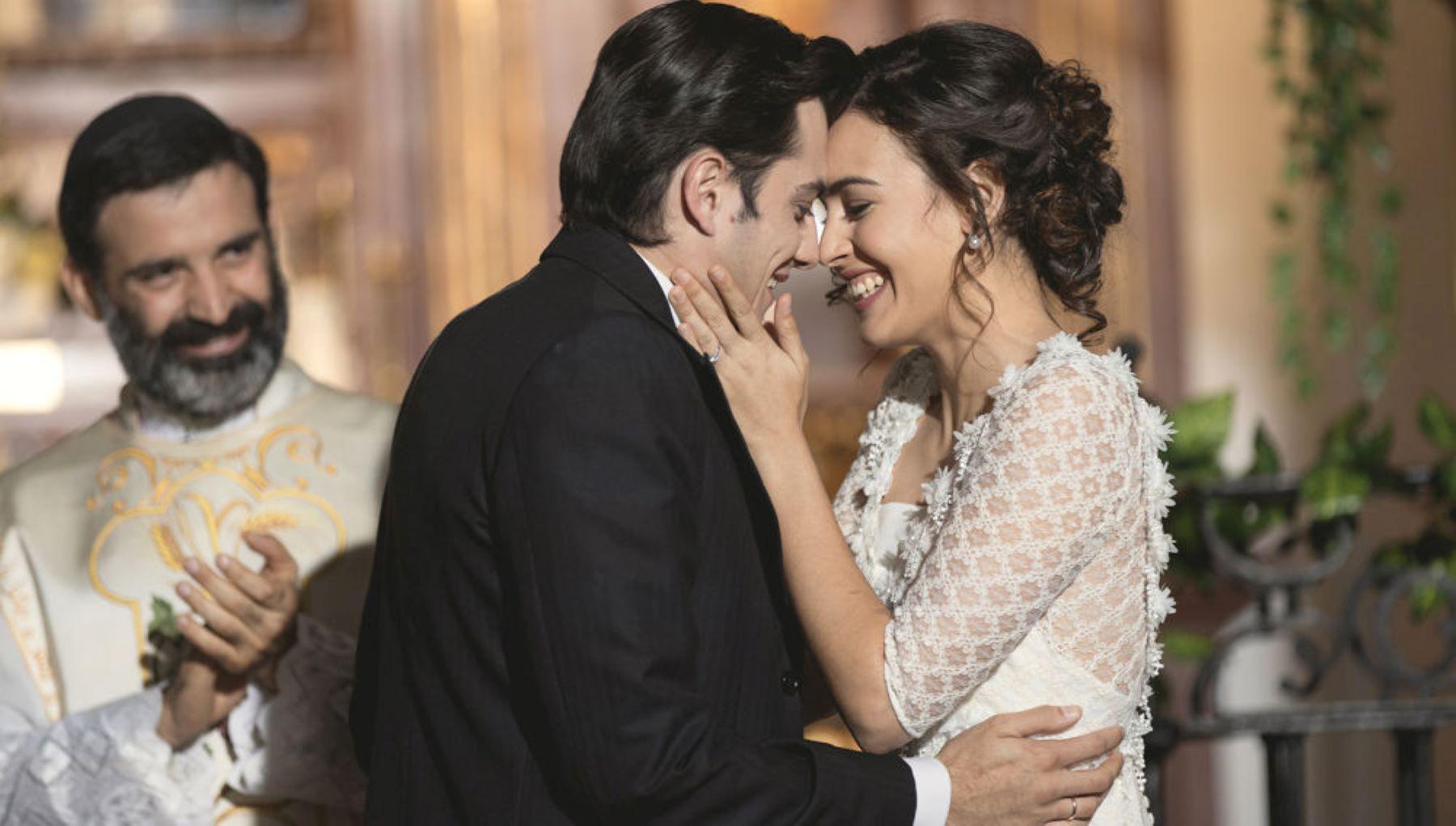 Il Segreto, puntate 3-8 marzo: Lola e Prudencio diventano marito e moglie