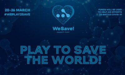 Locandina del WeSave! Charity Play, torneo online di Dota 2