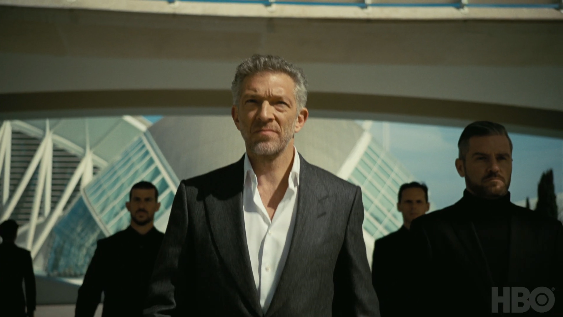 Vincent Cassel è Serac in Westworld 3, HBO, Gogo Magazine
