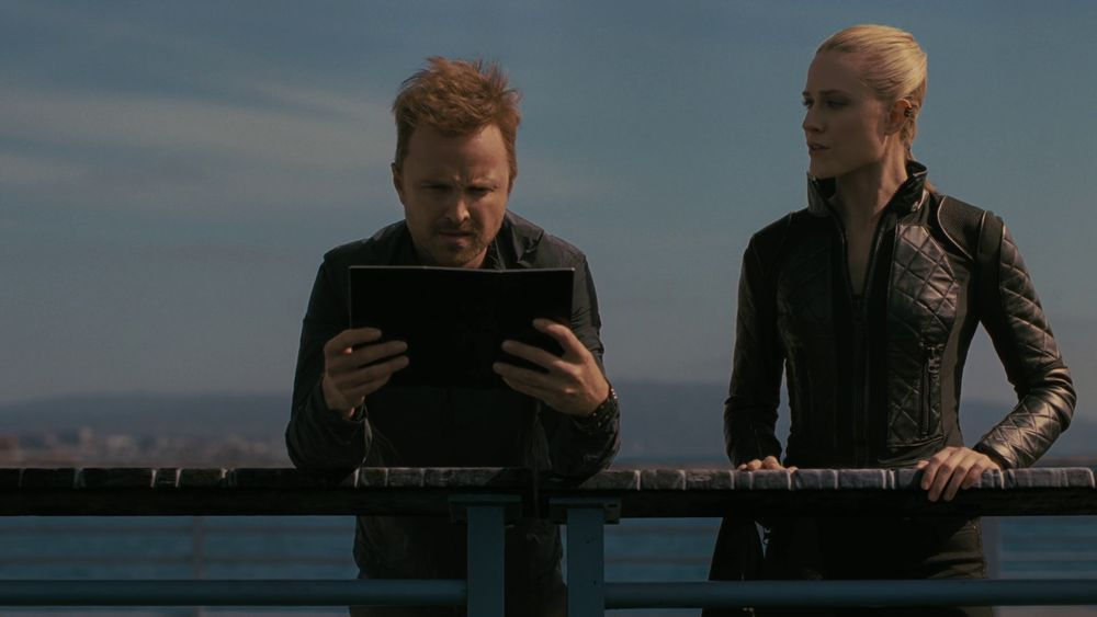 Aaron Paul e Evan Rachel Wood in Westworld 3x03 di HBO, Gogo Magazine