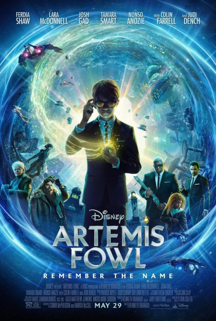 Poster dell'adattamento Disney di Artemis Fowl, Gogo Magazine
