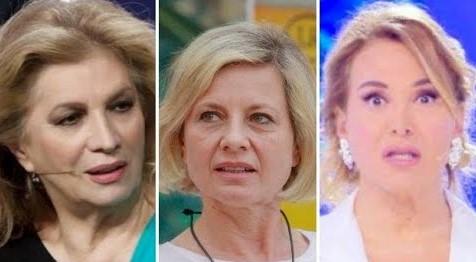 Grande Fratello Vip: Barbara D'Urso e Iva Zanicchi asfaltano Antonella Elia