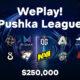 La locandina della WePlay! Pushka League, nuovo torneo online di Dota 2