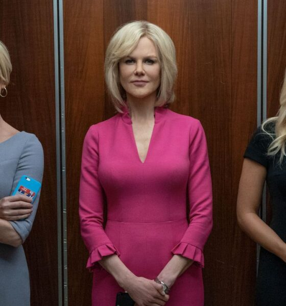 Charlize Theron, Nicole Kidman e Margot Robbie in Bombshell - La voce dello scandalo, Gogo Magazine