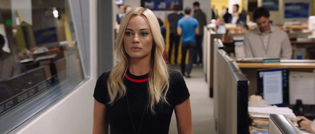 Margot Robbie nel film Bombshell, Prime Video, Gogo Magazine