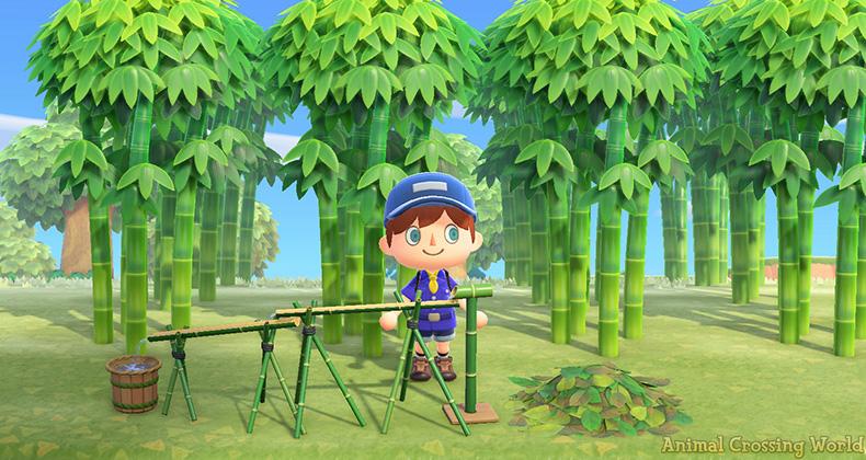 animal crossing bambù