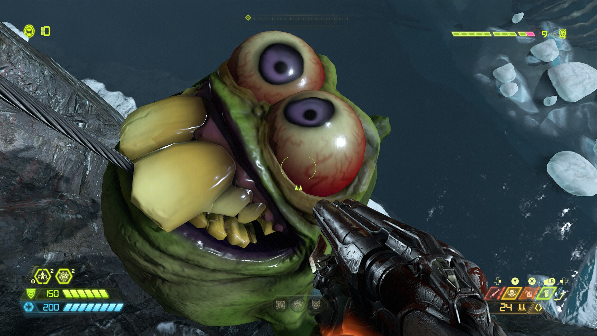 dopefish doom eternal