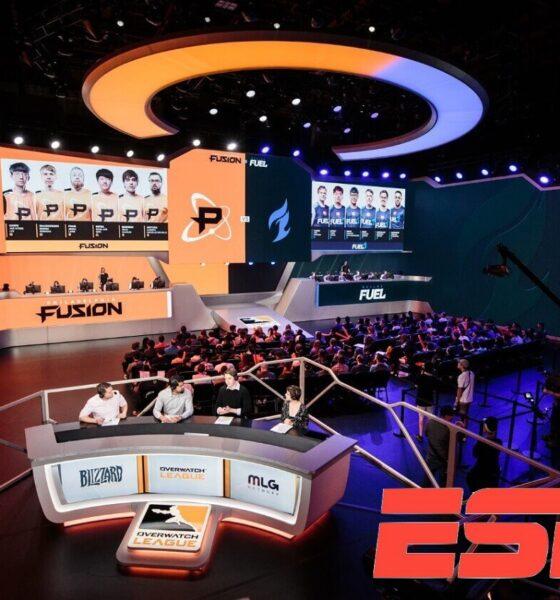 Il setup della finale della prima stagione di Overwatch League