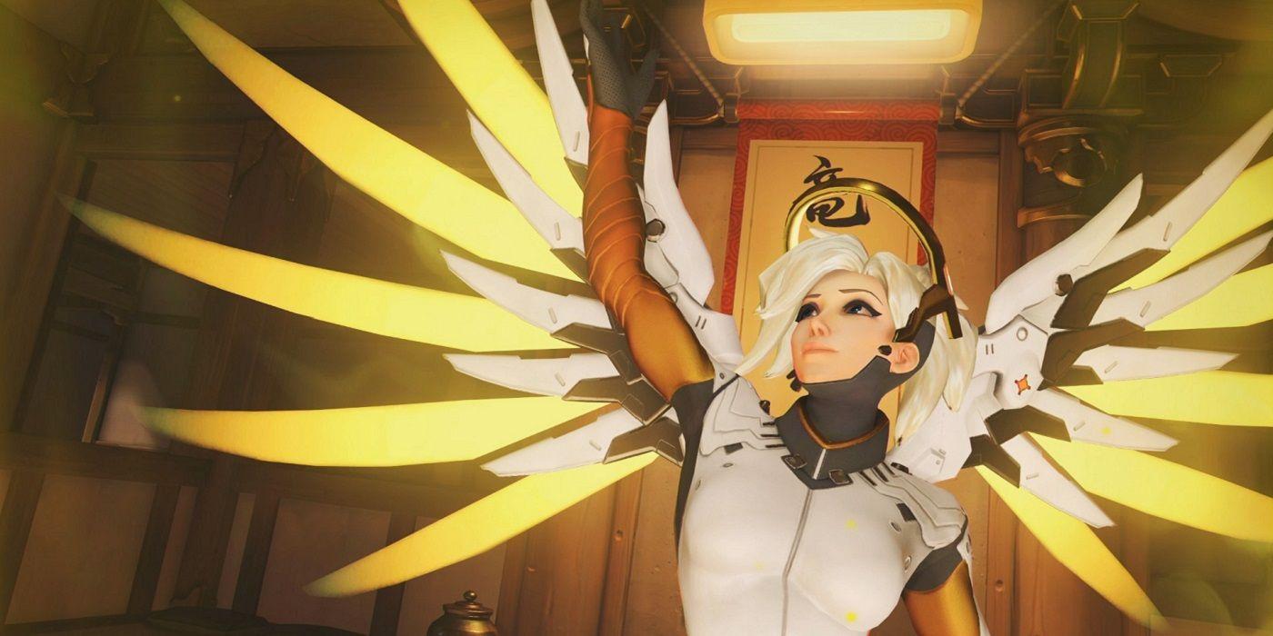 Mercy è il supporto finito nella Hero Pool della settimana per le ranked di Overwatch