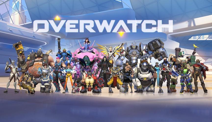 Tutto il team originale di Overwatch