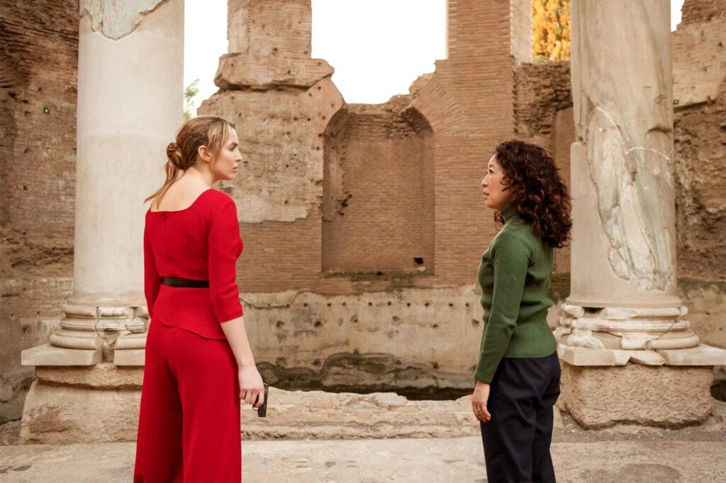 Jodie Comer e Sandra Oh nella seconda stagione di Killing Eve a Roma, Gogo Magazine