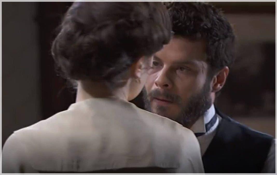 Una Vita, puntate 25-29 maggio: Lucia prende le difese di Mateo contro Eduardo
