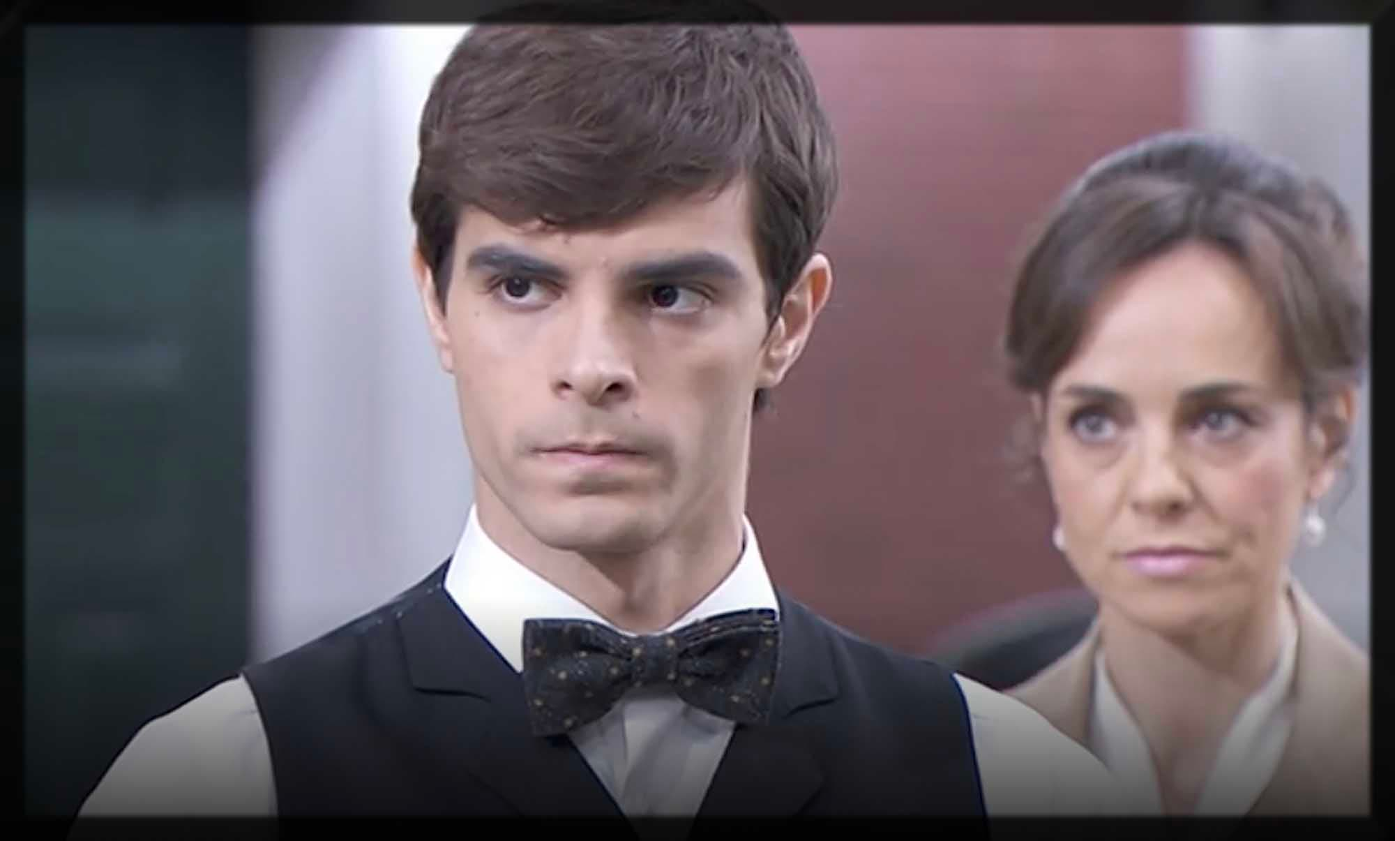 Una Vita - Ledesma ricatta Emilio per l'omicidio di Federico