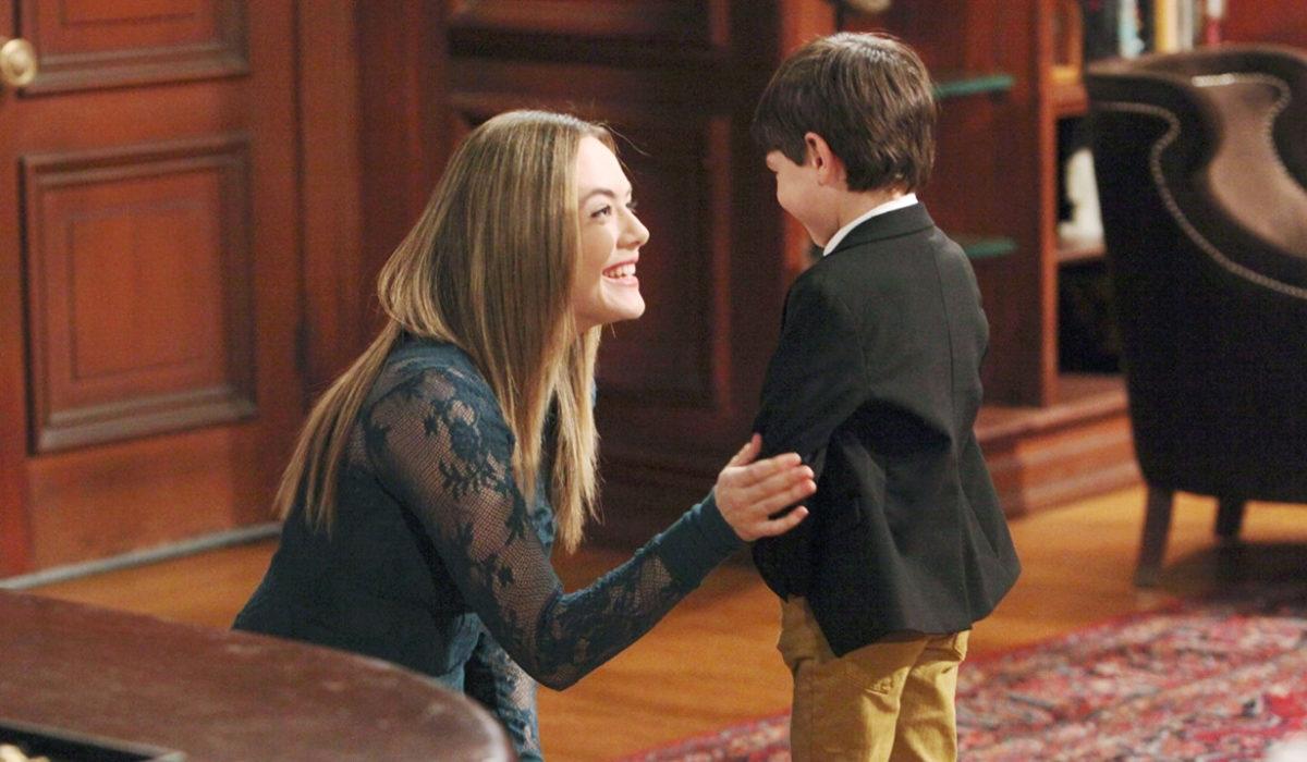 Beautiful - Ridge scopre che Hope ha l'adozione esclusiva di Douglas