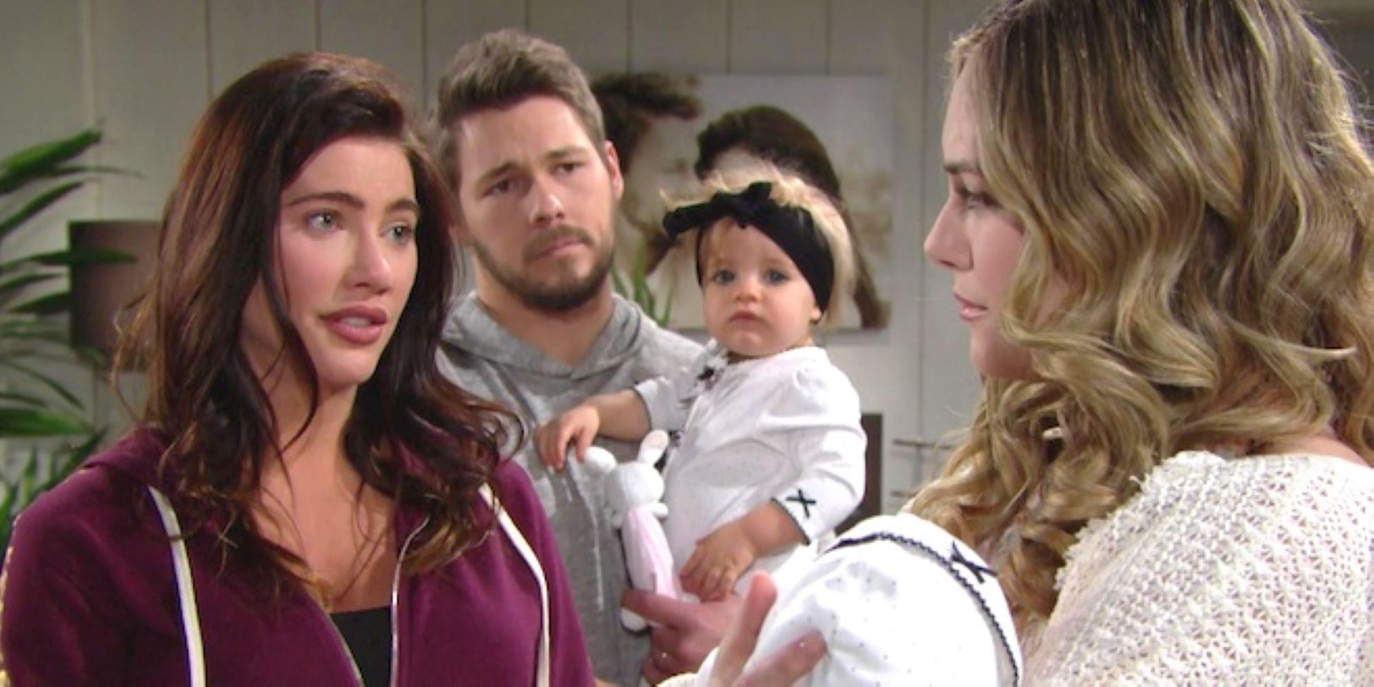 Beautiful - Liam torna ad essere una famiglia felice con Steffy