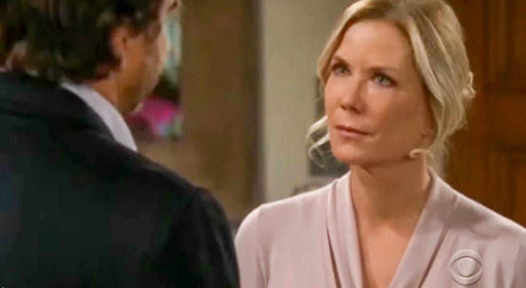 Beautiful - Brooke impedisce alla figlia di raccontare a Ridge della scomparsa di Thomas