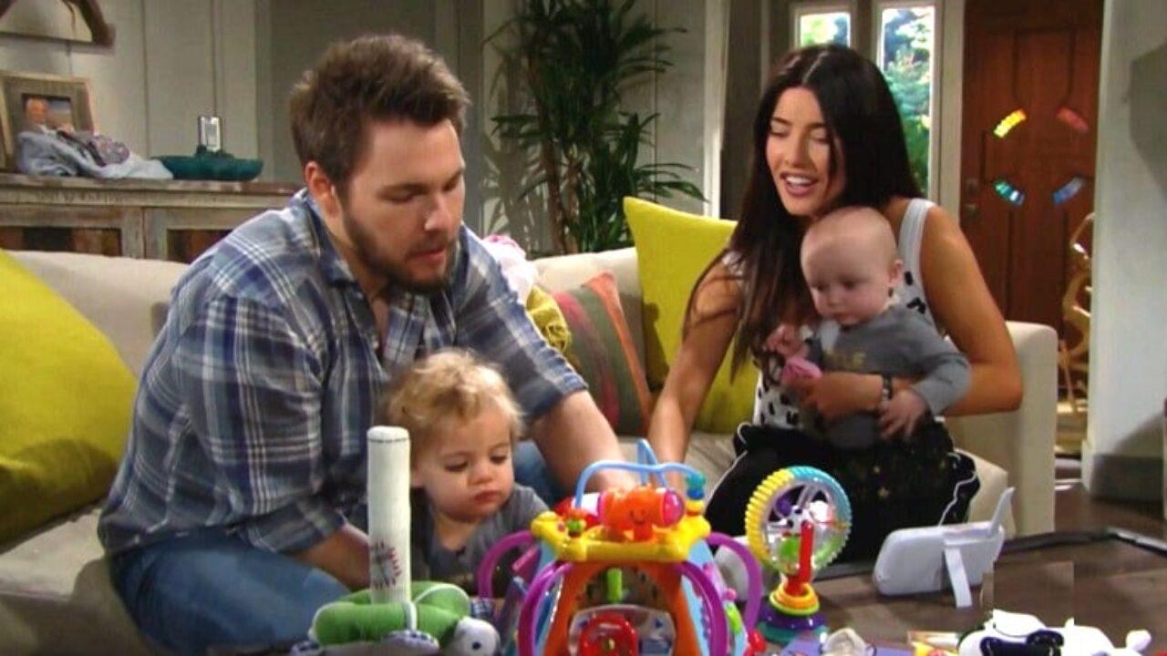 Beautiful, trame 22-27 giugno: Liam torna da Steffy, Wyatt e Flo ...