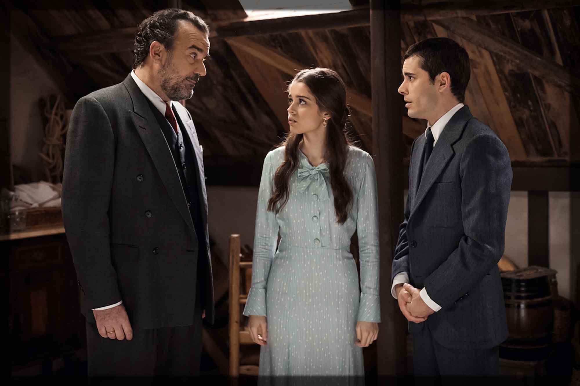 Il Segreto - Ignacio svela ad Urrutia che Pablo è suo figlio