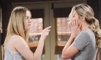 Beautiful, anticipazioni: Hope schiaffeggia Flo dopo aver ritrovato Beth