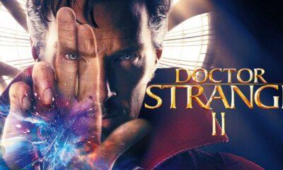 Doctor Strange in un negozio di fumetti + locandina doctor strange 2