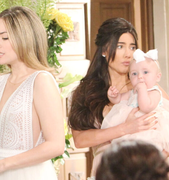 Beautiful, anticipazioni: Phoebe interrompe le nozze di Hope e Thomas