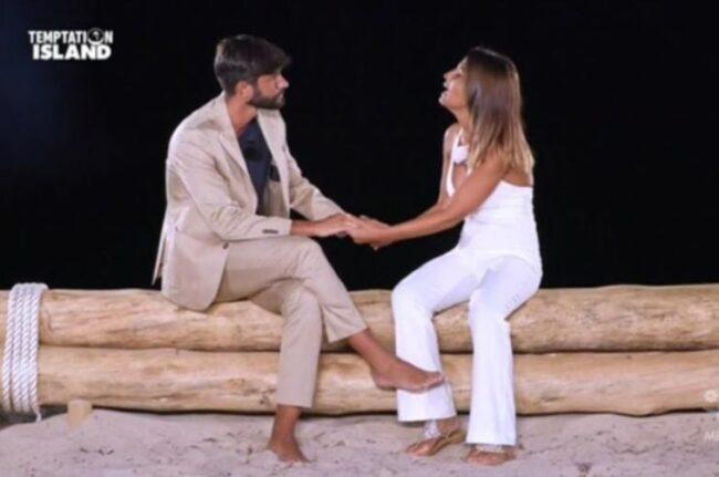 Temptation Island: Lorenzo Amoruso esprime la sua opinione su Andrea e Anna