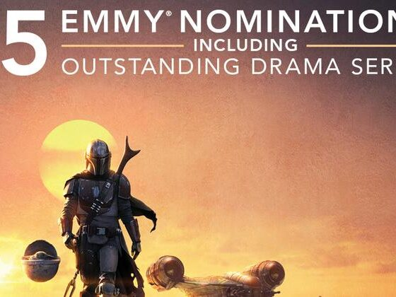 The Mandalorian candidato a 15 nomination + poster the mandalorian nomination