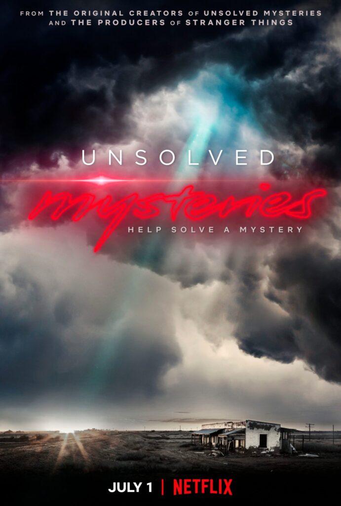 Novità Netflix - Unsolved Mysteries